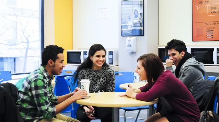 Alumnos de inglés en Toronto