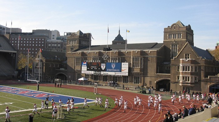 Pista atletismo University Pennsylvania