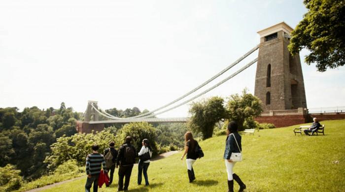 Puente colgante Clifton de Bristol