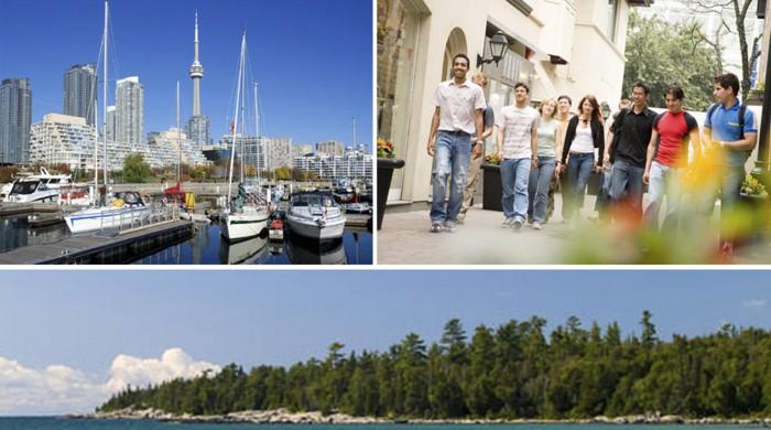 Actividades en Toronto