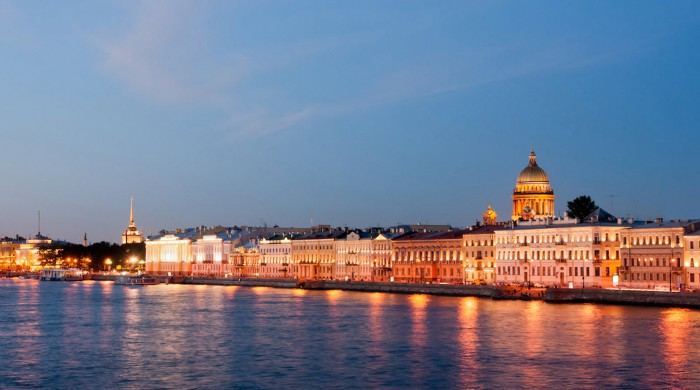Río Nevá, Sant Petersburgo