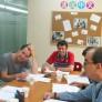 Clase de idiomas en Shangai