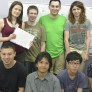 Grupo de alumnos de japonés