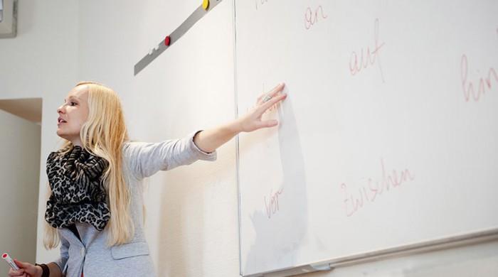 Profesora de alemán en Viena
