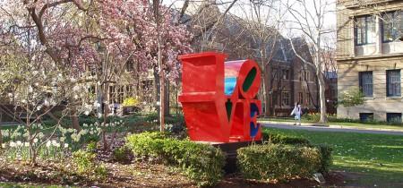Monumento de LOVE en Pennsylvania