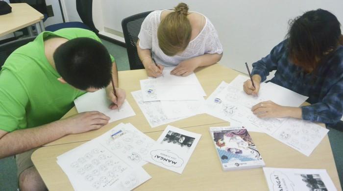 Centro de idiomas en Tokyo