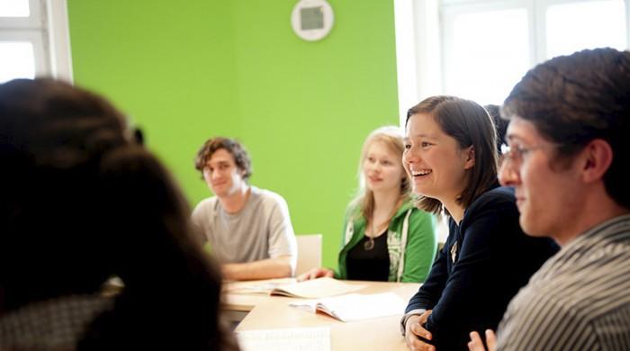 Estudiantes de alemán en Viena