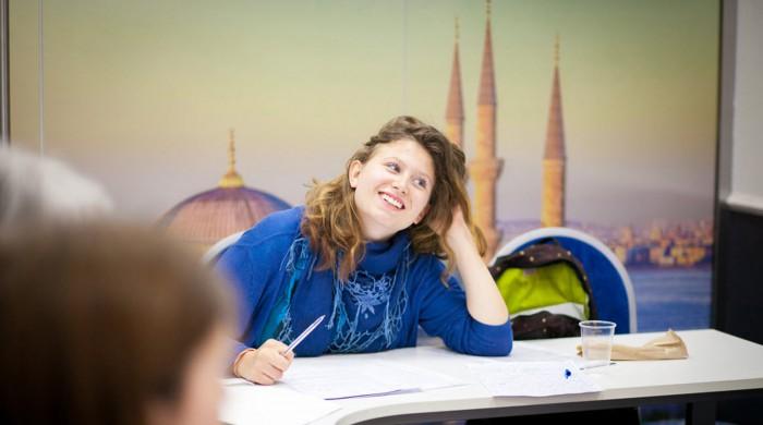 Estudiante de ruso en Sant Petersburgo