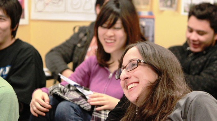 Alumnas de inglés en Toronto