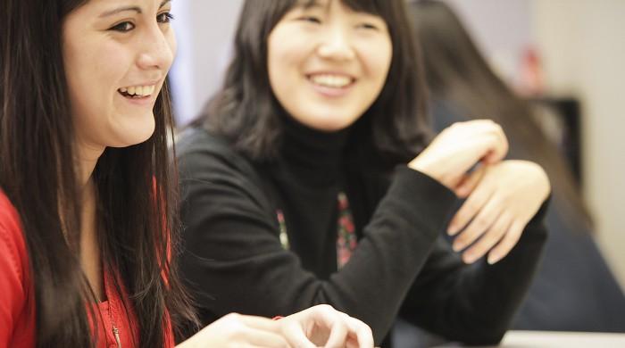 Alumnos de inglés en Montreal