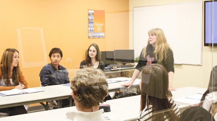 Estudiantes de inglés en Vancouver