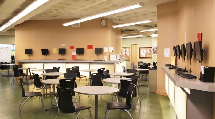 Instalaciones escuela de idiomas en Toronto