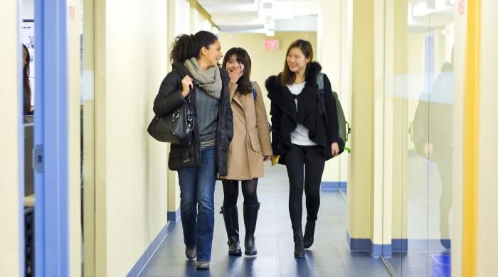 Alumnas de inglés en Vancouver