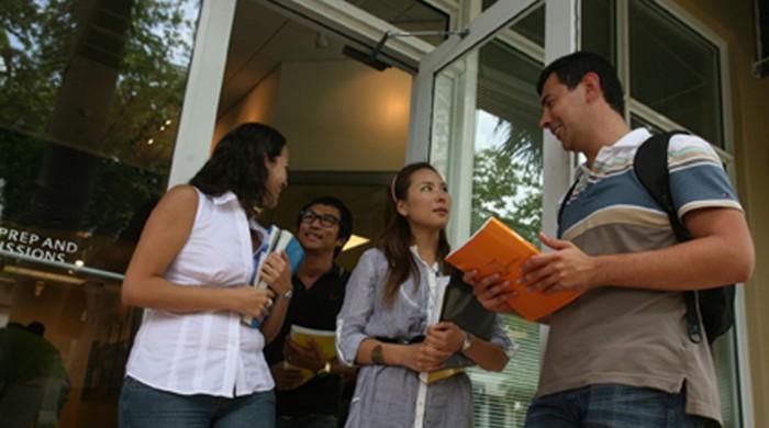 Estudiantes de inglés en Miami
