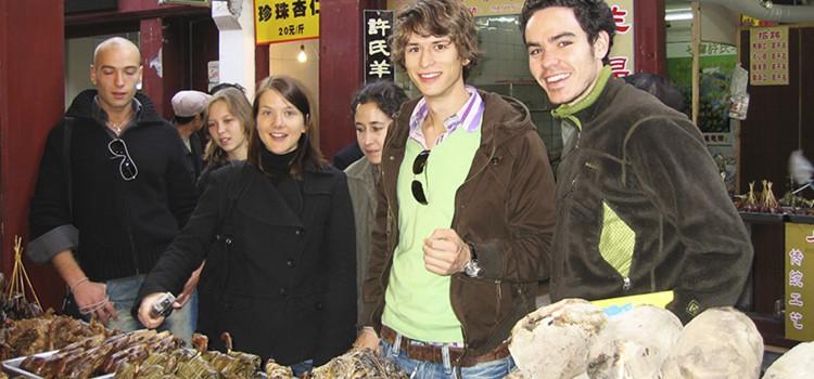 Alumnos en Shangai