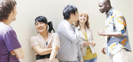Estudiantes de japonés