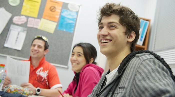 Estudiantes de inglés en Perth