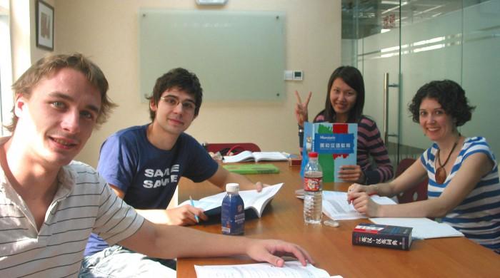 Estudiando chino en Shangai