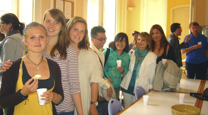 Alumnos de francés en Montpellier