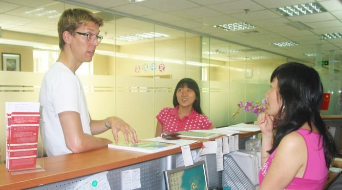 Profesores de chino en Shangai