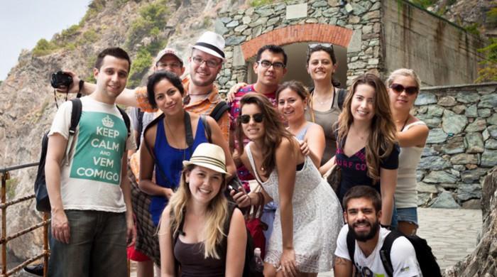Alumnos de italiano en Florencia