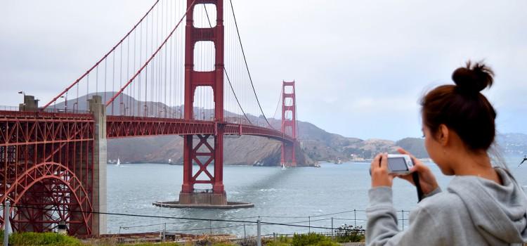 Estudiante de inglés en San Francisco