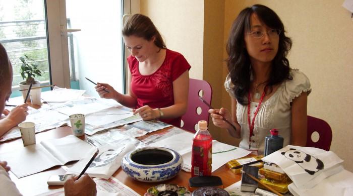 Estudiando chino en Pekín