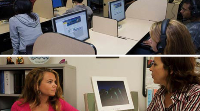Clases y alumnos del curso en San Diego