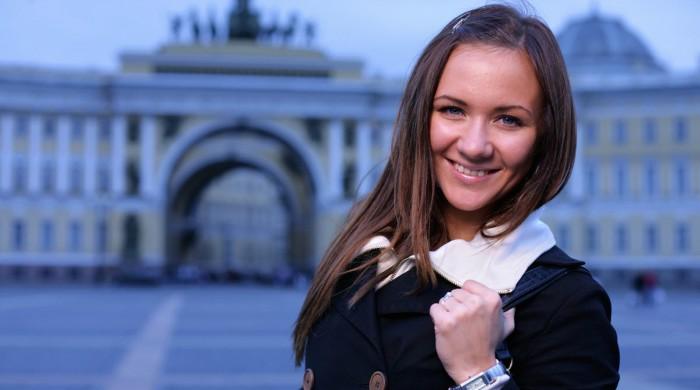 Estudiante en Sant Petersburgo