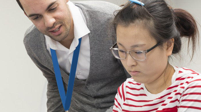 Alumnos en los cursos de inglés en Cambridge