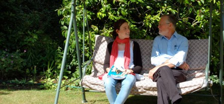 aprendiendo ingles en casa del profesor