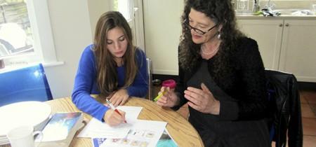 Estudiando ingles en EEUU