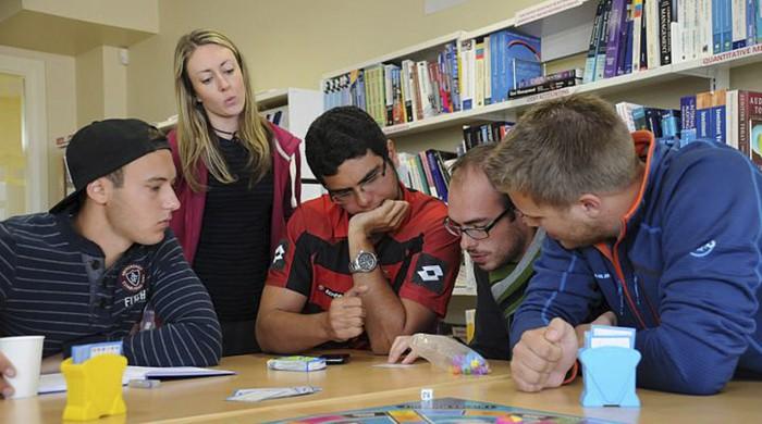 Alumnos de inglés en Galway