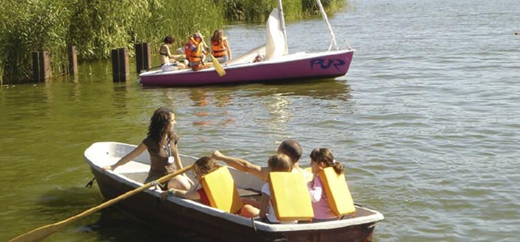 actividades acuaticas en Lake Zeuthen