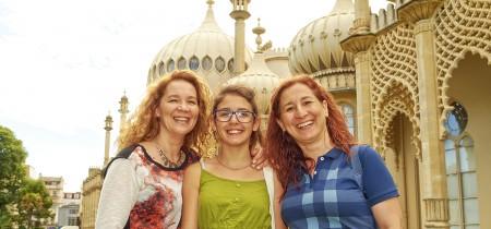 familia en Brighton