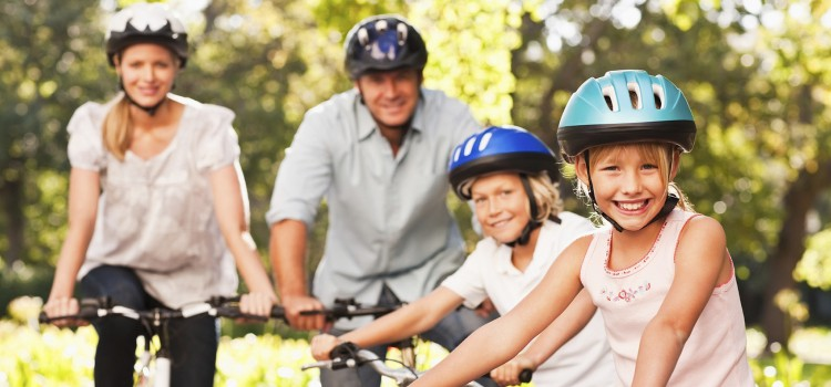 ciclismo en familia en cork