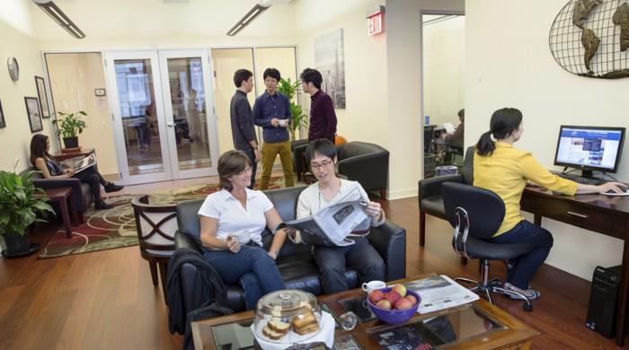 estudiantes ingles para ejecutivos nueva york