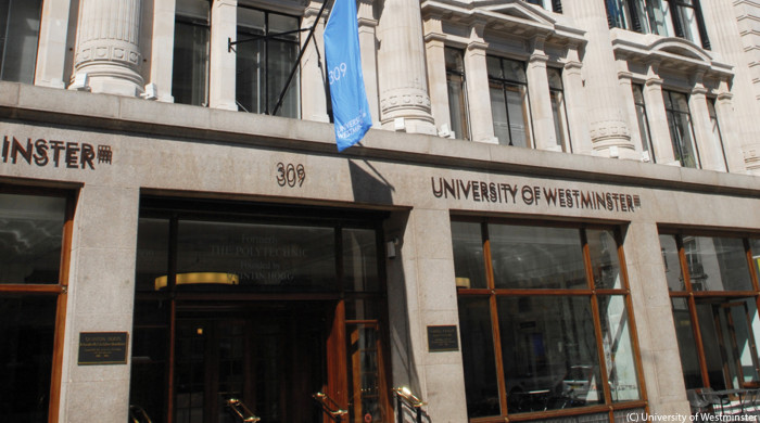 universidad de westminster