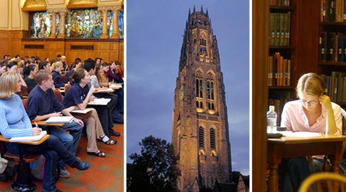 estudiantes de Yale University