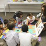 niños estudiando en Galway