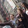 Estudiantes haciendo turismo en Nueva York