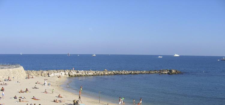 playa de antibes