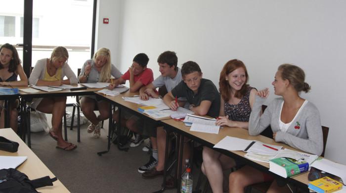 alumnos frances en biarritz