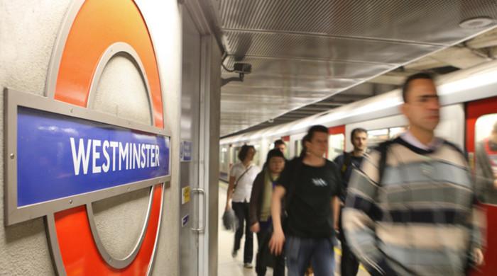parada metro de westminster