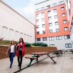 Hall de la residencia para el curso de inglés para ingeniería en Londres