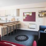 Cocina de la residencia para el curso de inglés para ingeniería en Londres