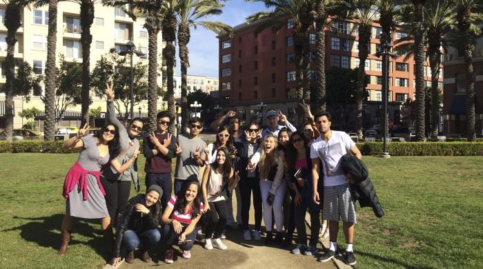 Estudiantes de inglés en San Diego