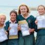 estudiantes año escolar Irlanda