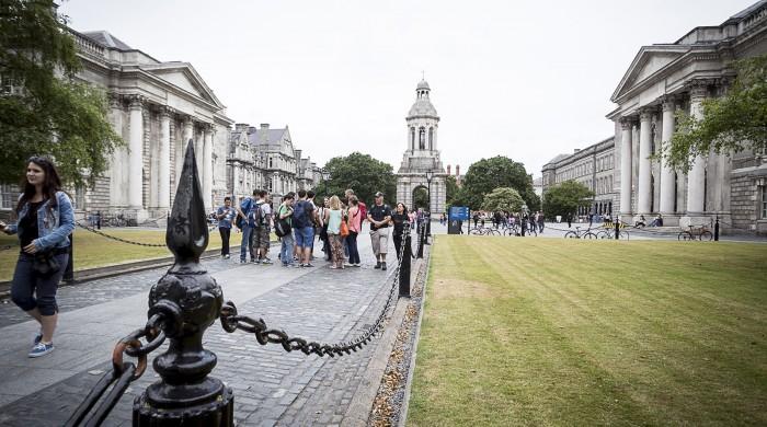 estudiar ingles en Dublin Trinity College