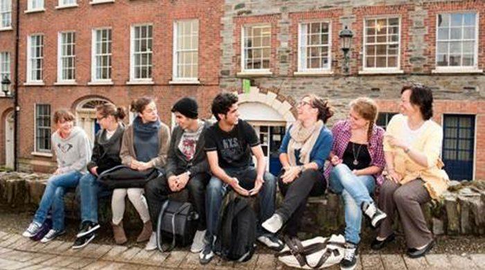 trabajo de voluntariado en Irlanda